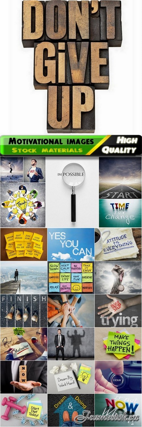 Motivational creative images from stock - 25 HQ Jpg