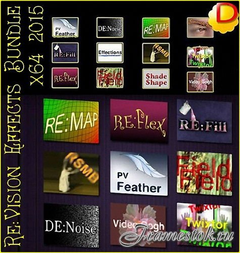 Re:Vision Effects Bundle (x64) 2015