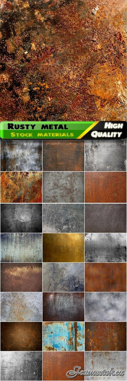 Rusty metallic background Stock photo and royaltyfree