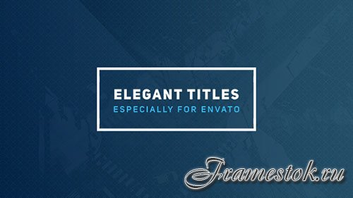 Elegant Titles 2 - Project for After Effects (Videohive)