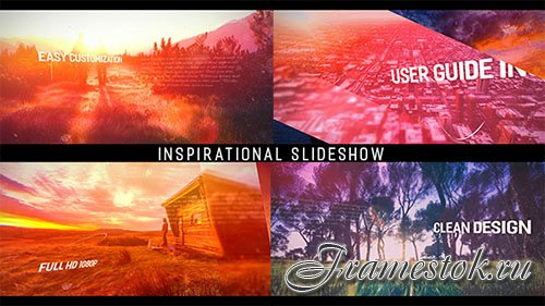 Inspirational Parallax Slideshow - Project for After Effects (Videohive)