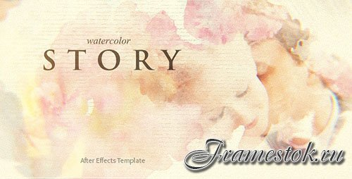 Watercolor Story - Project for After Effects (Videohive)