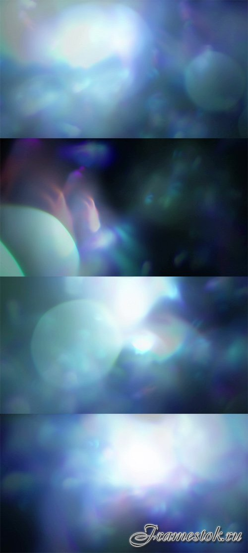 Blue bokeh background footages