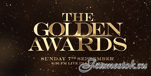 Golden Awards Promo - Project for After Effects (Videohive)