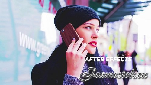 Grunge Parallax Slideshow Opener - After Effects Templates