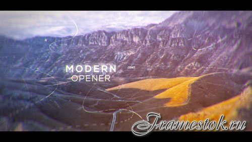 Modern Parallax Opener | Slideshow - Project for After Effects (Videohive)