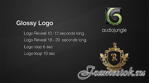 Glossy Logo | Reflection Logo Loop - Project for After Effects (Videohive)