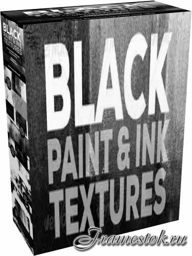 GraphicRiver - 30 Black Paint and Ink Textures