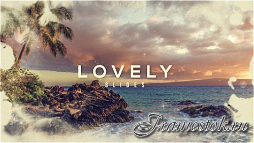 Lovely Parallax Slideshow | Opener - Project for After Effects (Videohive)