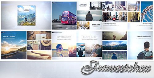 Photo Book - Memories of Travel - Project for After Effects (Videohive)