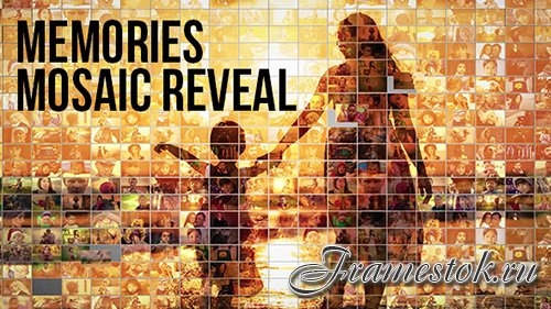 Mosaic Photo Reveal - Memories - Project for After Effects (Videohive)