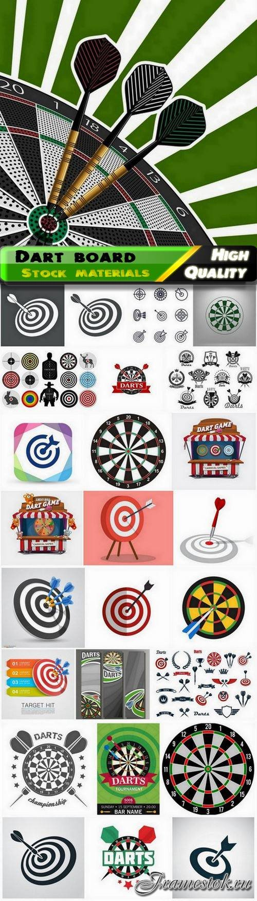 Sport dart board game for your accuracy 25 Eps