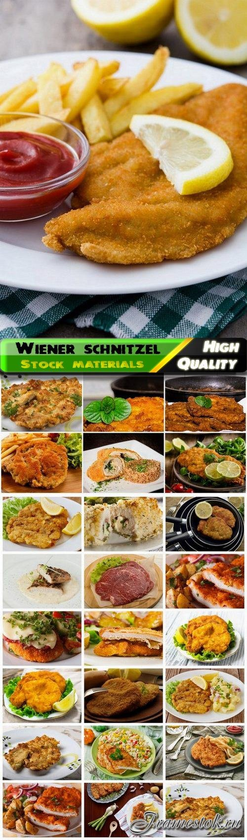Wiener schnitzel and chop and cutlet 25 HQ Jpg
