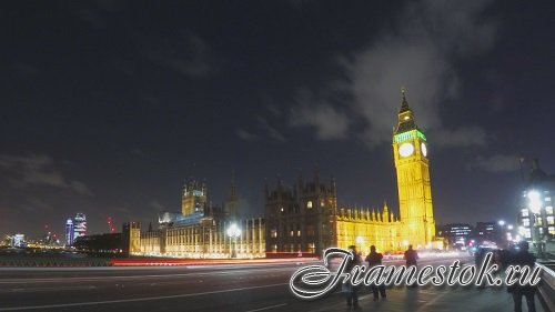 London Night Palace Of Westminster