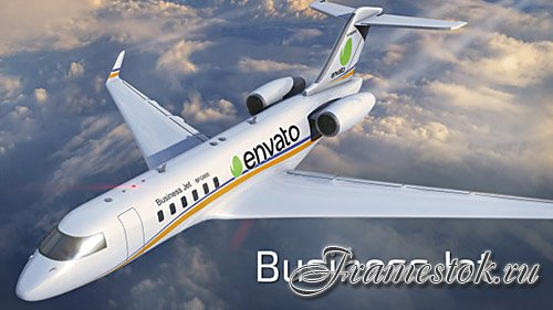 Business Jet - Project for After Effects (Videohive)
