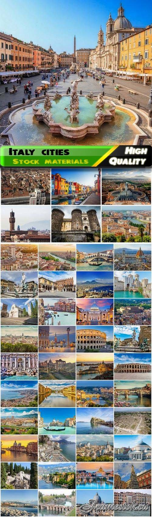Famous Italy cities Florence Naples Rome Venice Verona 50 HQ Jpg