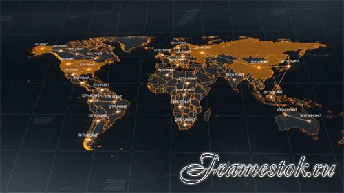 World Map 18811993 - Project for After Effects (Videohive)