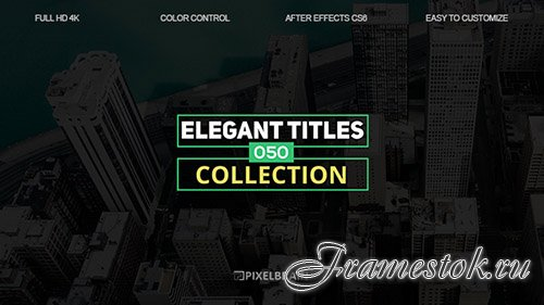 Elegant Titles 19602798 - Project for After Effects (Videohive)