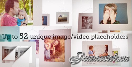 White Frames Slideshow - Project for After Effects (Videohive)