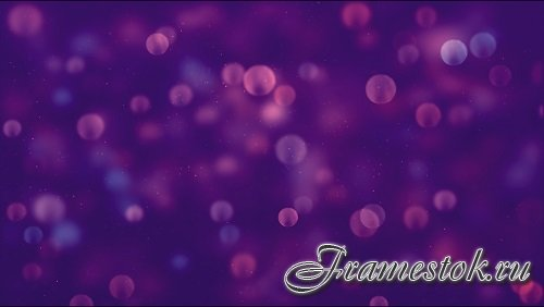 Bubbles on a purple background