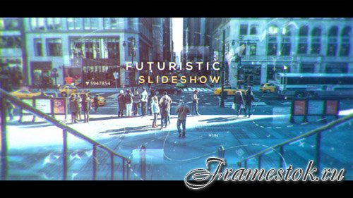 Futuristic Slideshow 19591528 - Project for After Effects (Videohive)