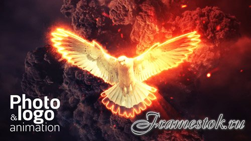 Fire Explosion Logo & Photo Animation - Project for After Effects (Videohive)