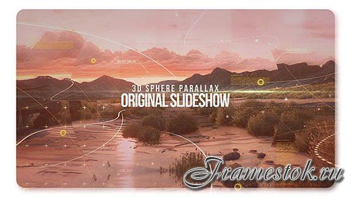 3D Sphere Original Parallax Slideshow - Project for After Effects (Videohive)