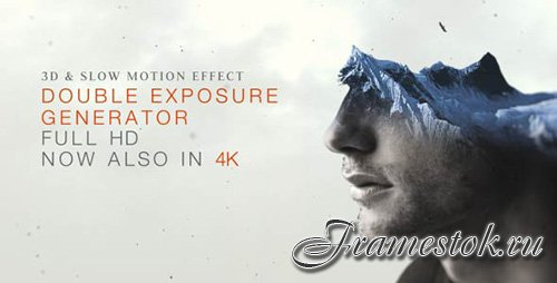 Double Exposure Generator V2 - Project for After Effects (Videohive)