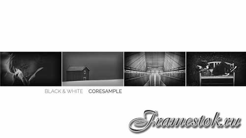 After Effects template - Black and White
