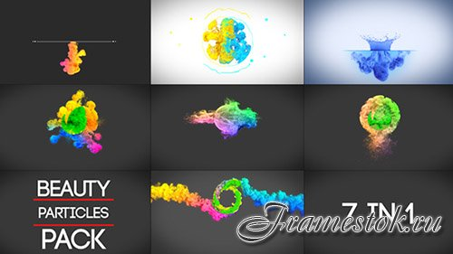 Beauty Particles Logo Pack - Project for After Effects (Videohive)