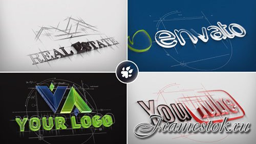 Architect Sketch Logo - Project for After Effects (Videohive)