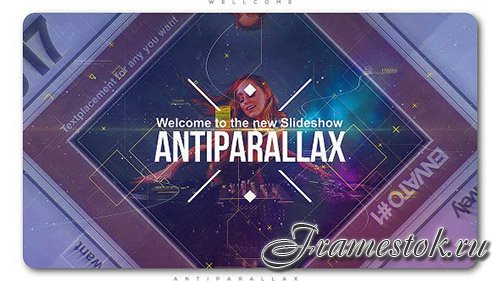 Anti Parallax Slideshow - Project for After Effects (Videohive)