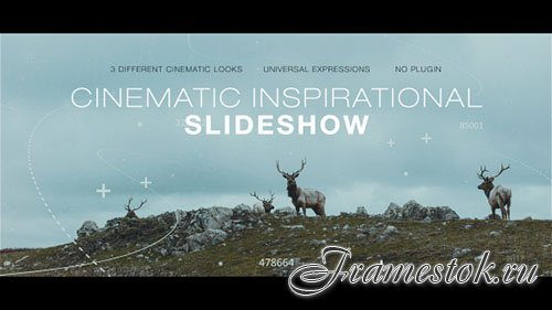 Cinematic Inspirational Slideshow | Opener - Project for After Effects (Videohive)