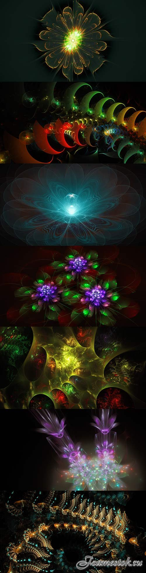 Extraterrestrial world of fractals - 4