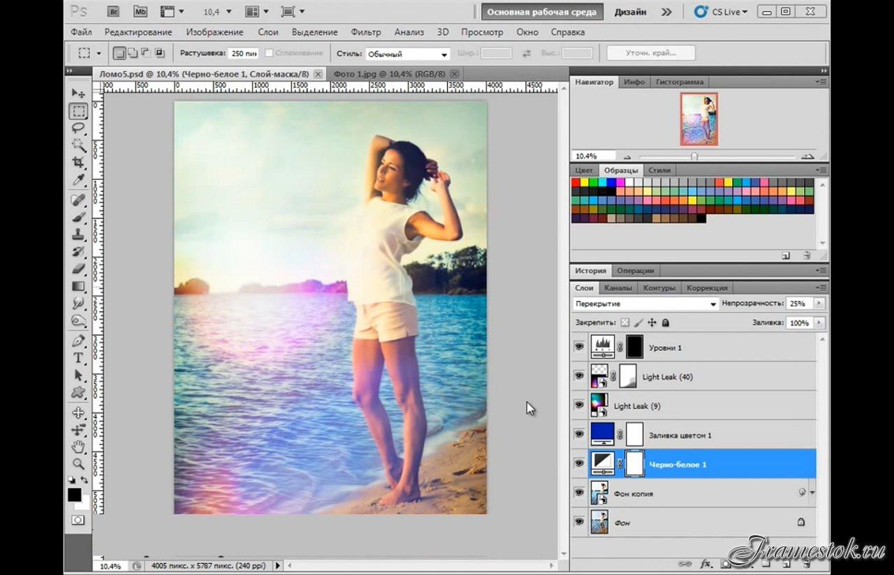 Фотоэффекты онлайн бесплатно - сделать фотомонтаж