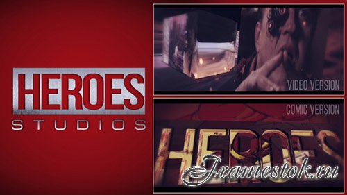 Heroes Logo - Project for After Effects (Videohive)