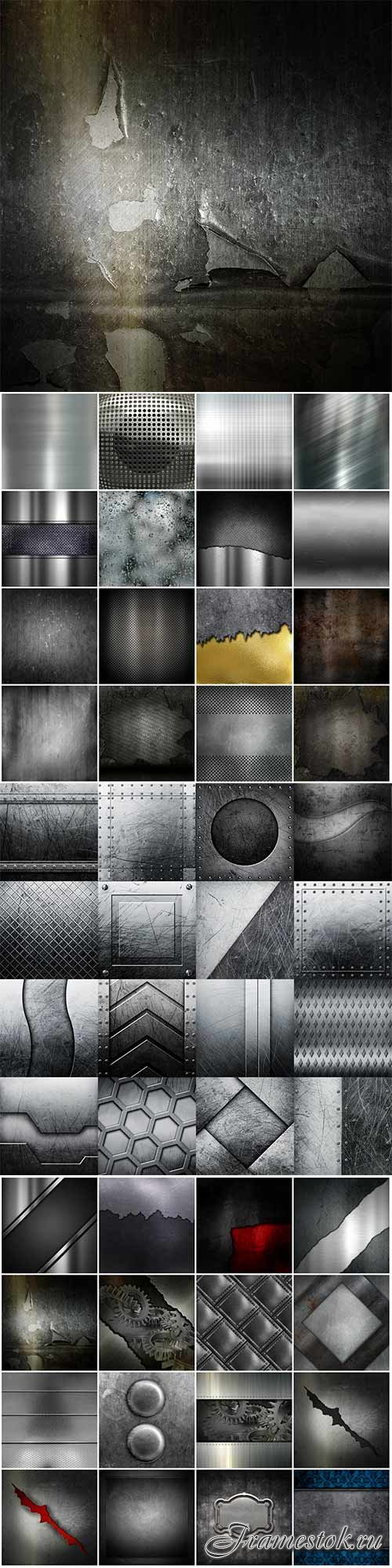 50 metallic backgrounds