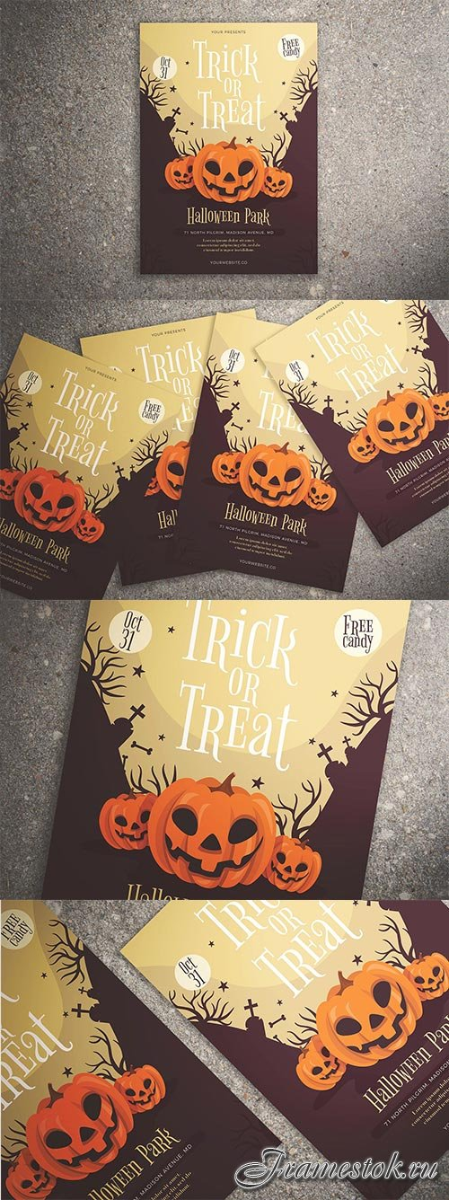 CM - Trick or Treat Halloween Flyer 3002910