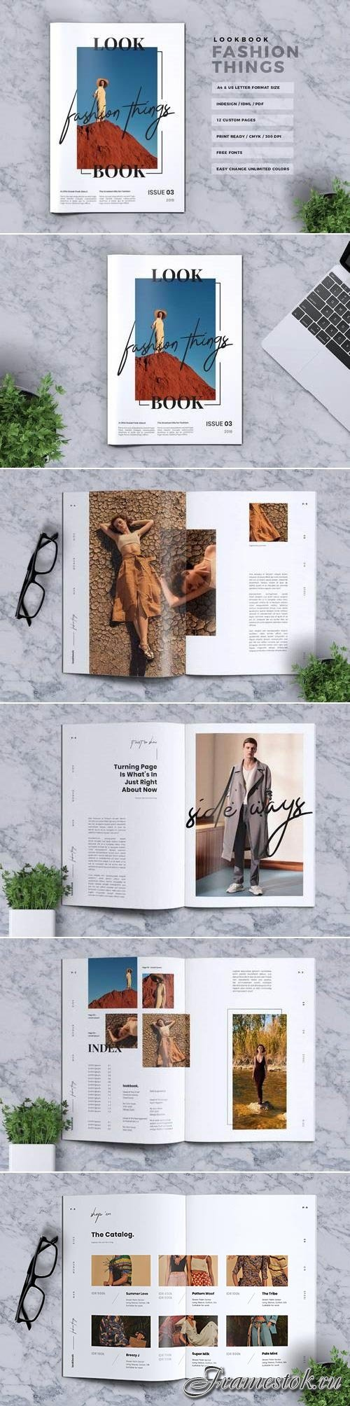 CreativeMarket Fashion Things Lookbook 3023699