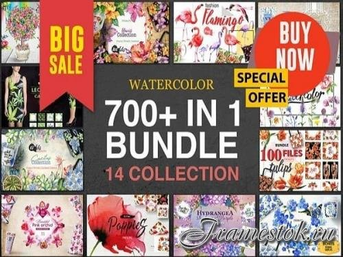 700+ files in 1 BUNDLE 14 collections