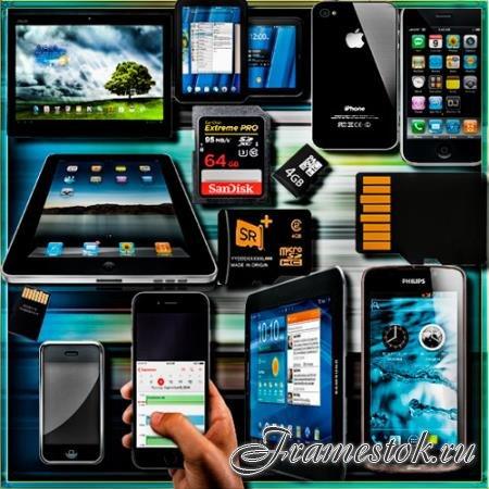 Png без фона - Планшеты, айфоны, карты памяти, смартфоны