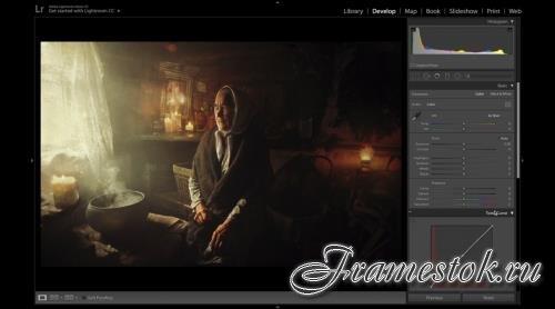Пошаговый онлайн-курс по художественной обработке портретов + Бонусы (2019)
