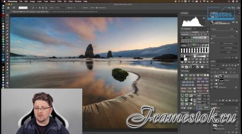Обработка пейзажа в Photoshop: Яркостные маски (2020)