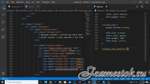 Веб разработка - создание сайта с нуля HTML, CSS, JavaScript (2020)