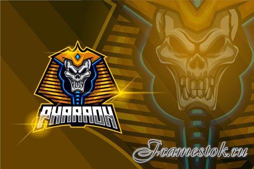 Pharaoh E-sport Logo Template